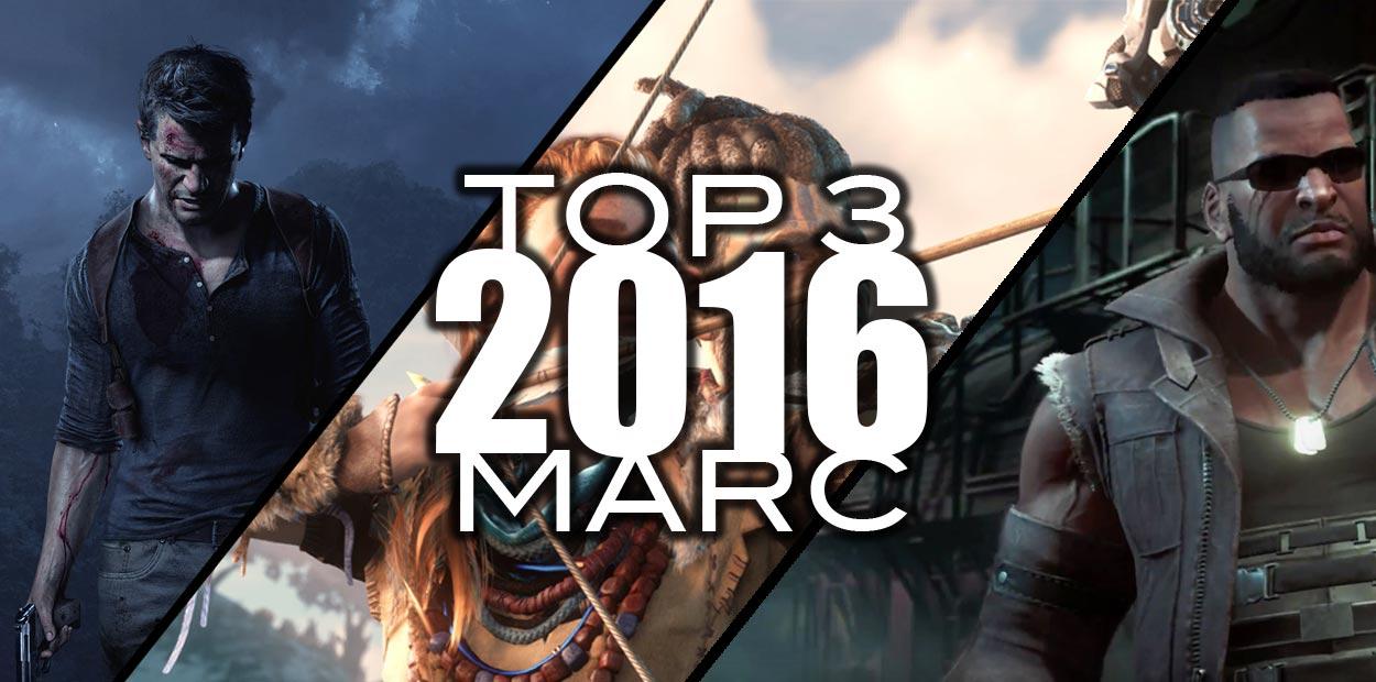 top 3 jeux 2016 marc