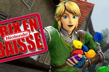 Baisse de prix de jeux Nintendo 3DS et Wii U