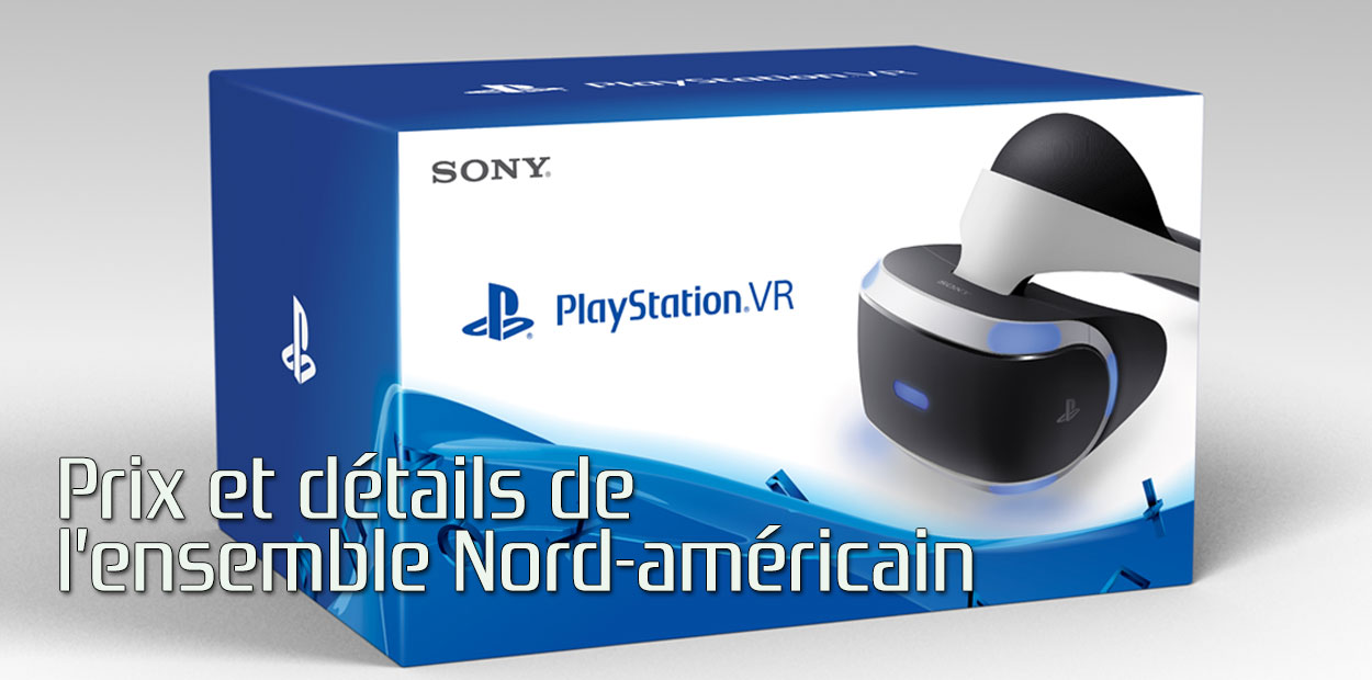 playstation vr ensemble complet prix