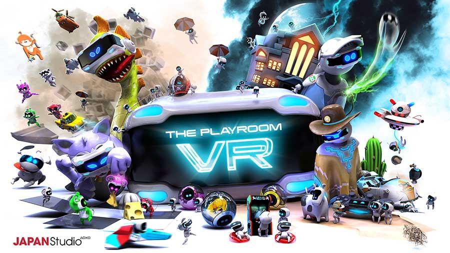 playstation vr playroom