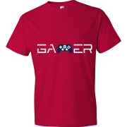 T-Shirt Gamer M2 Gaming v1 (rouge)