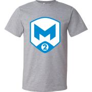 T-Shirt M2 Gaming Logo gris