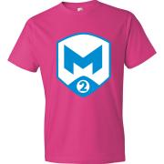 T-Shirt M2 Gaming Logo rose