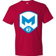 T-Shirt M2 Gaming Logo rouge