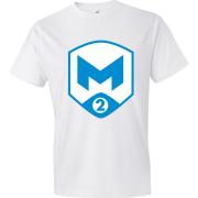 T-Shirt M2 Gaming Logo blanc