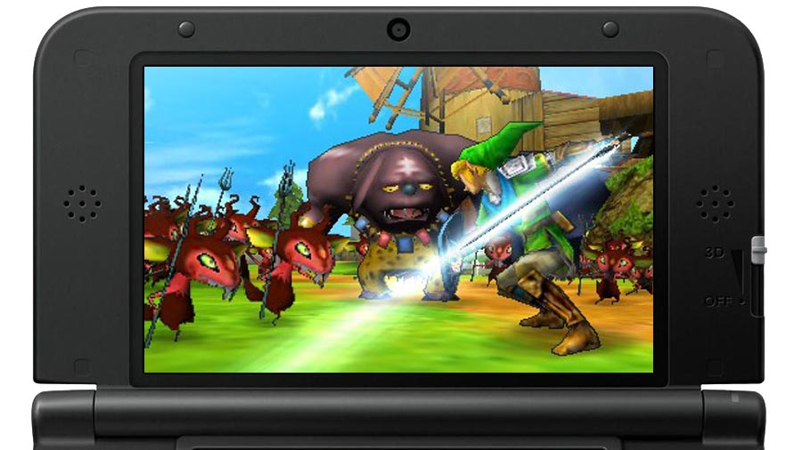 test hyrule warriors legends 3ds