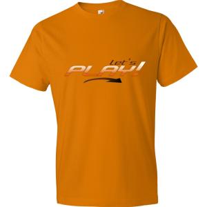 T-Shirt Let's Play! (Orange)
