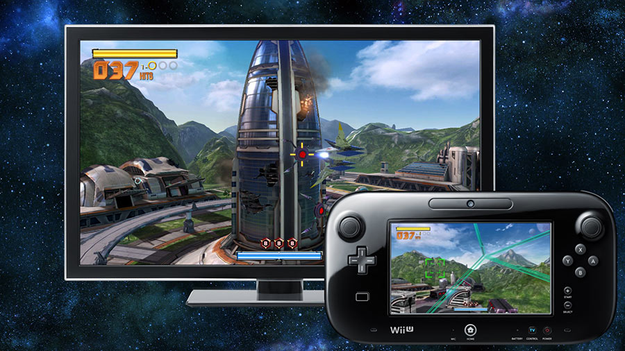 Test Star Fox Zero Gamepad