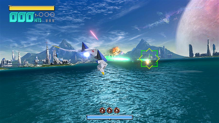 Test Star Fox Zero