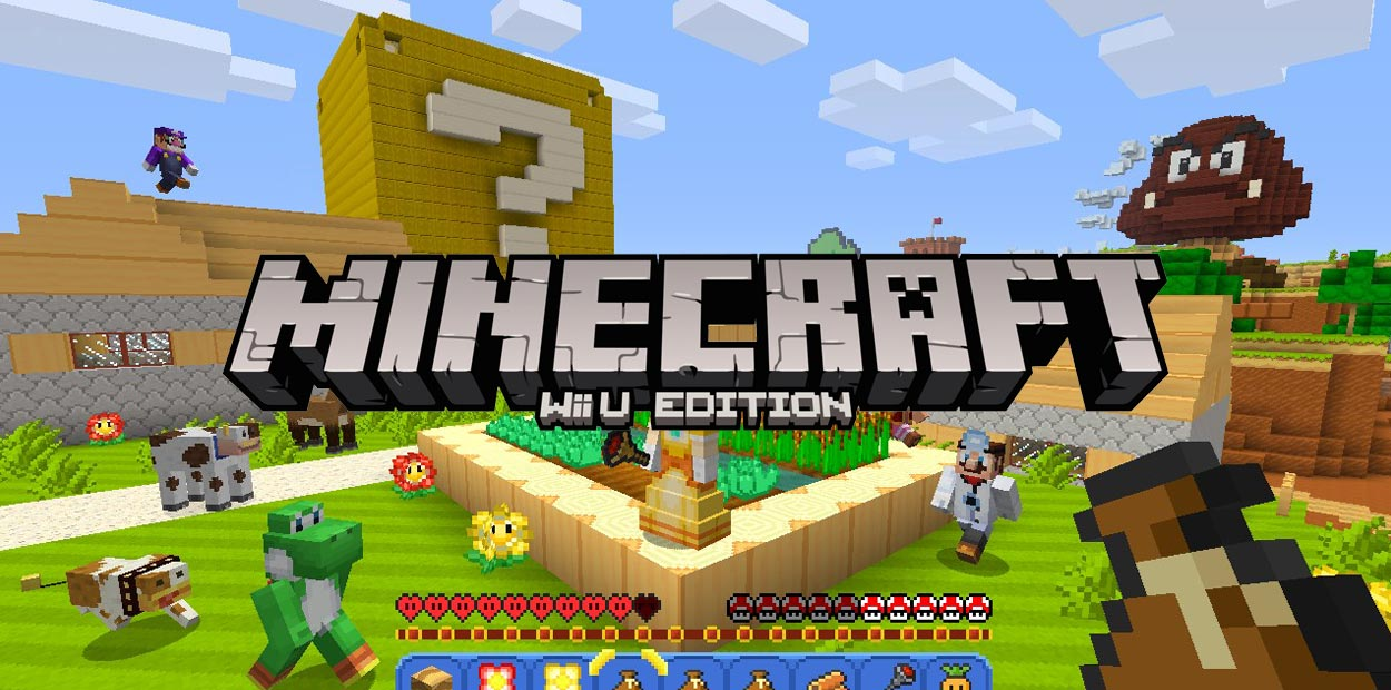 test wii u minecraft wii u edition
