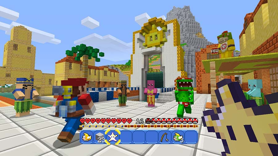 minecraft wii u edition test