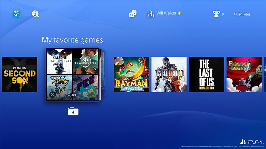 PlayStation 4 - Un point sur la mise à jour 4.0