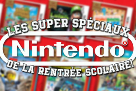 Nouveaux jeux Nintendo Selects et plus pour la rentée scolaire