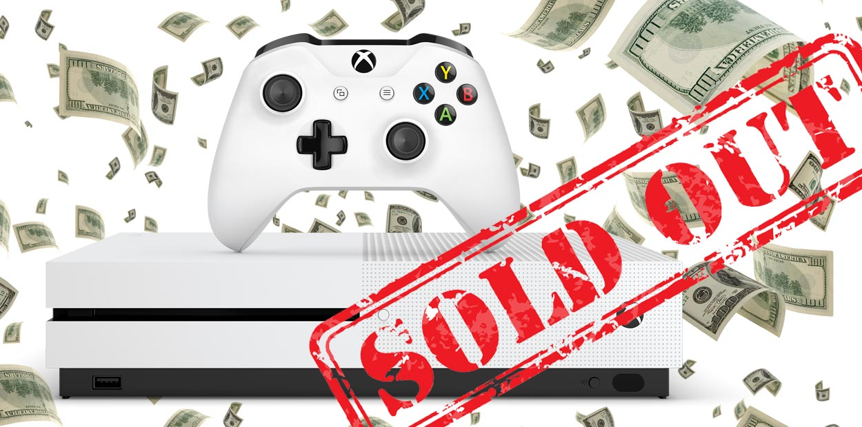 xbox one s 2tb sold out