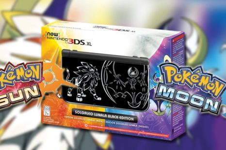 New Nintendo 3DS au design de Pokémon Sun et Pokémon Moon