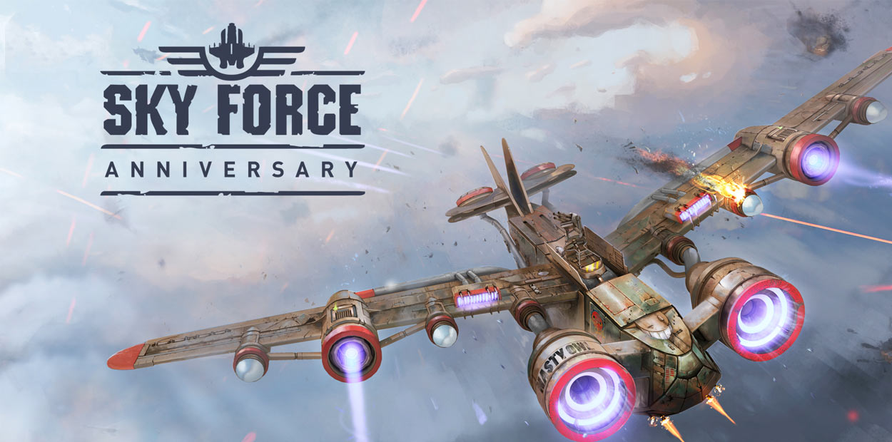 Test Sky Force Anniversary PS4