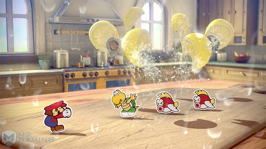 paper mario color splash wii u test