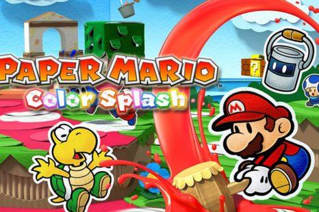 Paper Mario : Color Splash | Test Wii U
