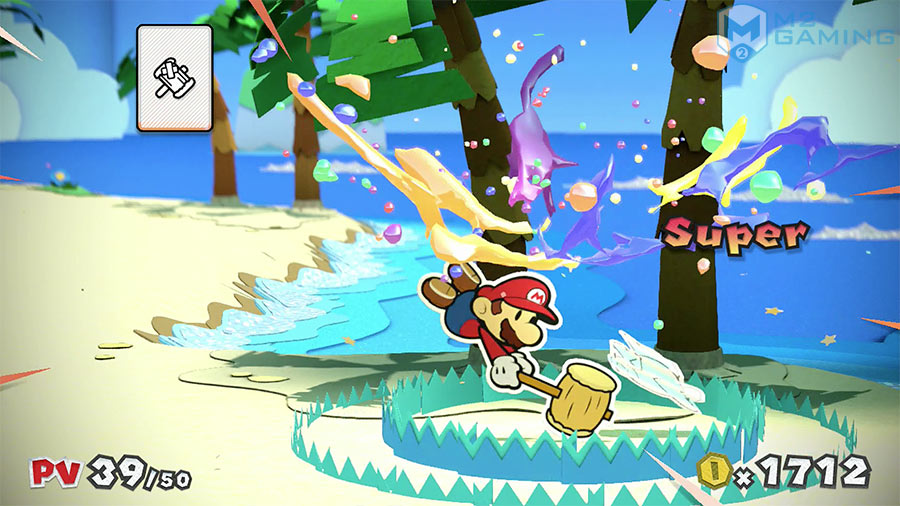 wii u test paper mario color splash
