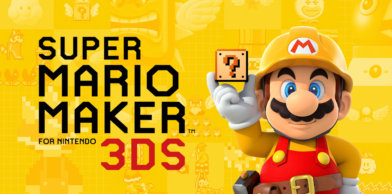 super mario maker for nintendo 3ds test