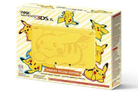 Nouveaux jeux Mario, Yoshi, Pikmin pour 3DS et nouvelle New 3DS XL Pikachu
