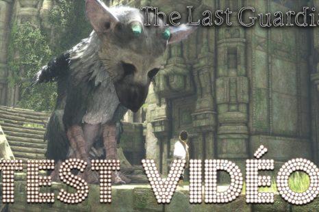 Test vidéo – The Last Guardian