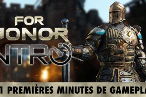 For Honor | Intro – 41 premières minutes de jeu (PS4)
