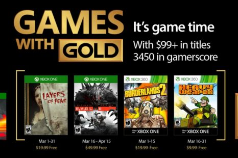 Games with Gold : la sélection de mars 2017