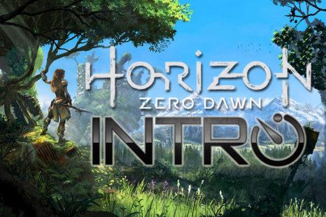 INTRO – Horizon: Zero Dawn (54 premières minutes) (PS4 Pro @ 1080p)
