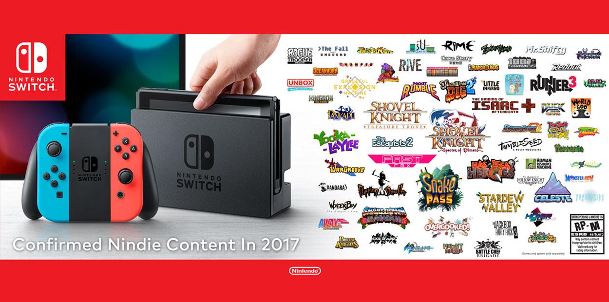 Jeux indépendants Nintendo Switch