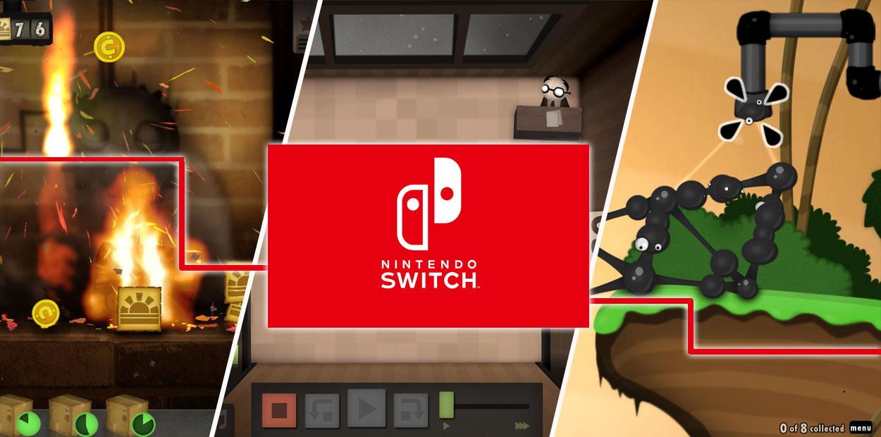 nintendo switch 3 autres jeux lancement