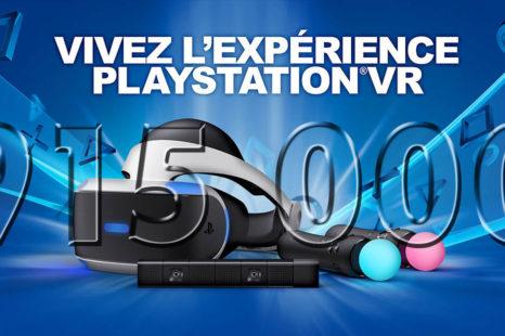 Sony : plus de 915 000 périphériques PlayStation VR vendus à ce jour