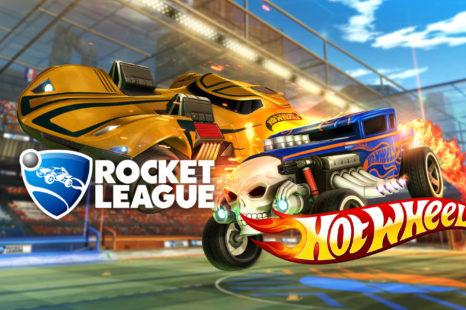 Rocket League s'allie à Hot Wheels
