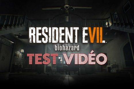 Resident Evil 7: Biohazard | Test vidéo PS4