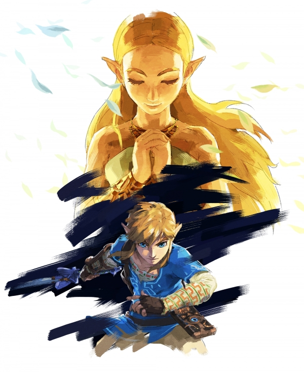 the legend of zelda breath of the wild art