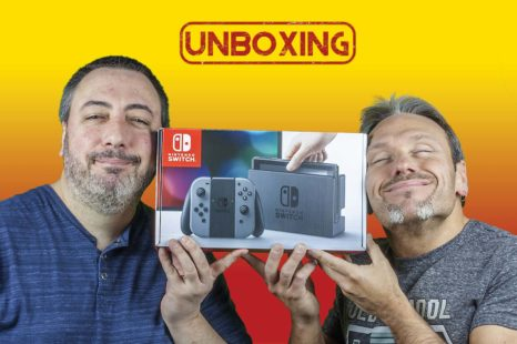 Unboxing de la Nintendo Switch