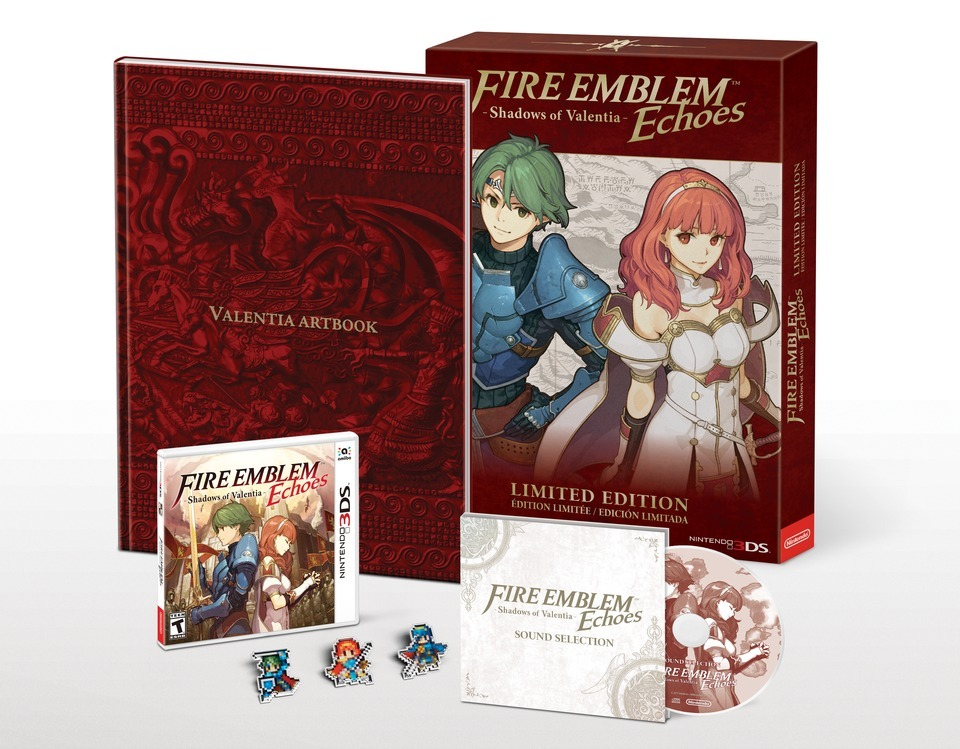 Fire Emblem Echoes- Shadows of Valentia collector