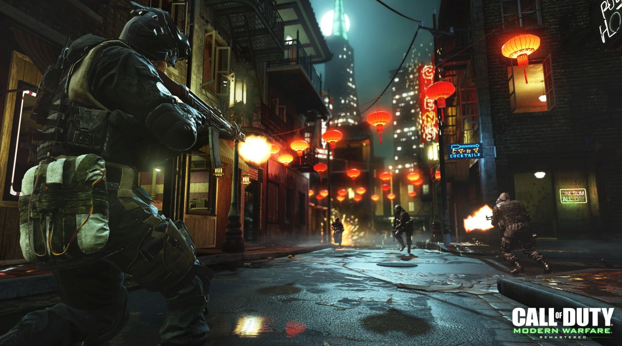 call of duty modern warfare remastered chinatown