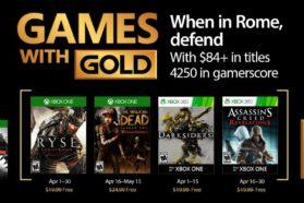 Games With Gold : les gratuités d'avril 2017