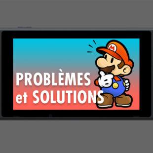 Les problèmes de la Nintendo Switch et comment les régler