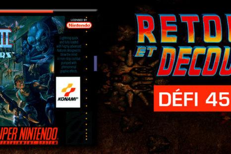 Contra III: The Alien Wars (SNES) – Retour et découverte