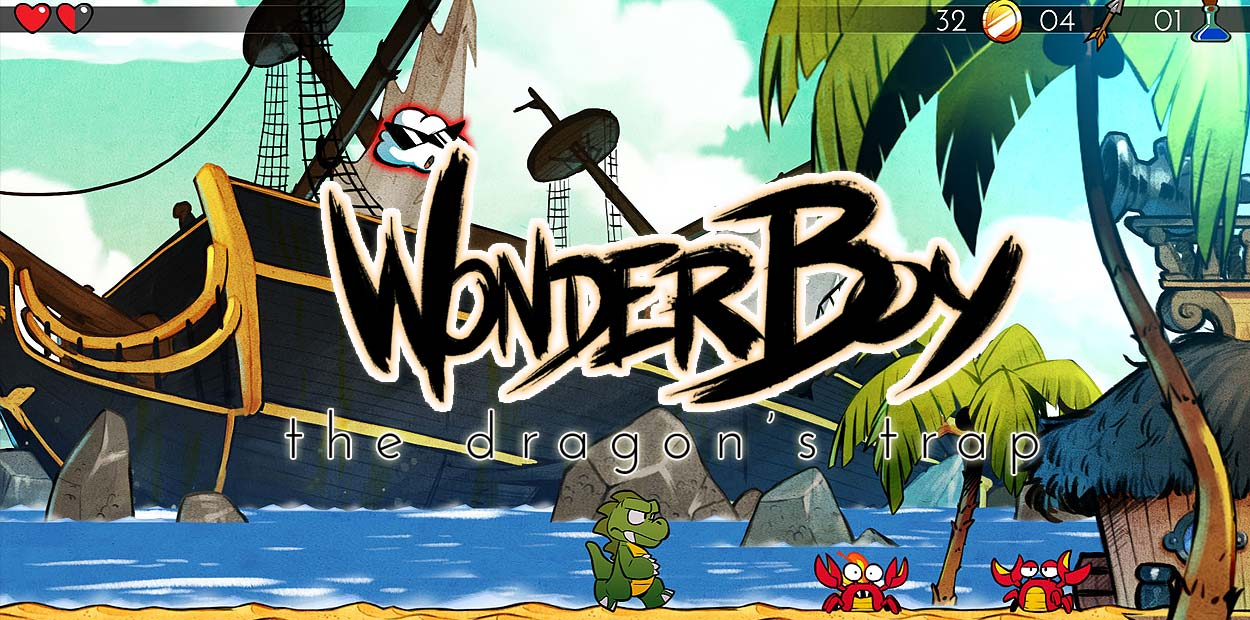 wonder boy the dragons trap titre