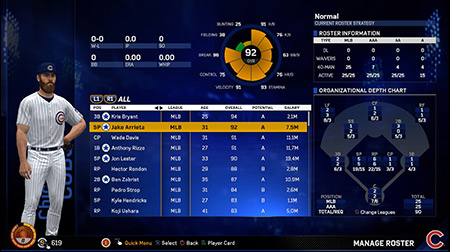 Test MLB The Show 17 - PS4 - Mode de jeu