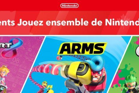 Une tournée Nintendo Switch «Jouez ensembles» pour cet été!