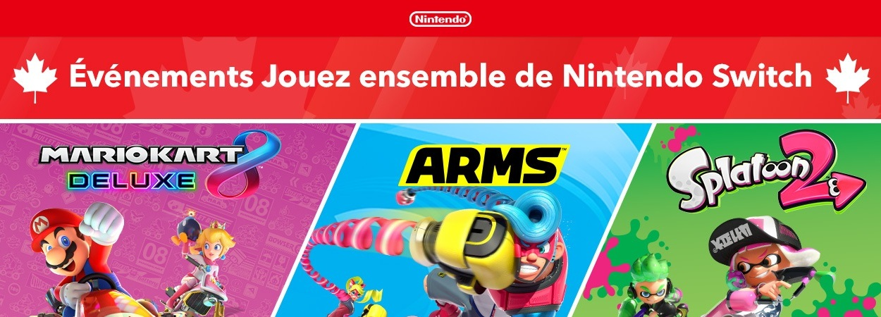 Nintendo Switch Evenements Jouez ensemble m2 gaming