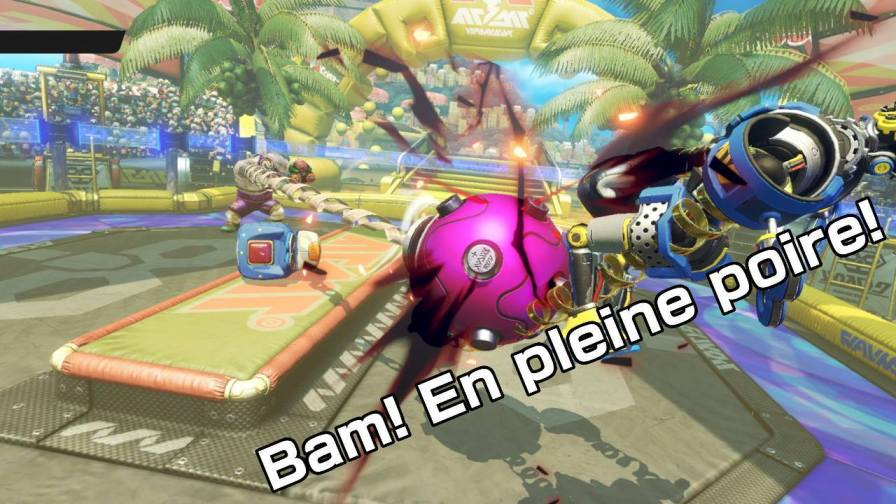 arms test nintendo switch