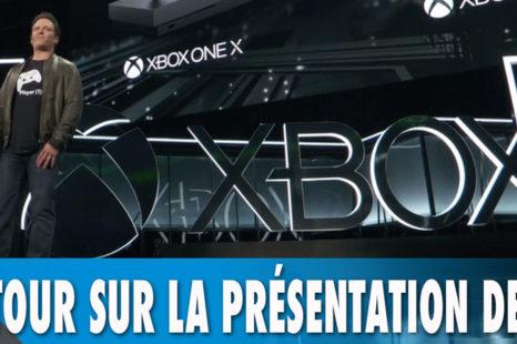E3 2017 | Retour sur la présentation de Microsoft