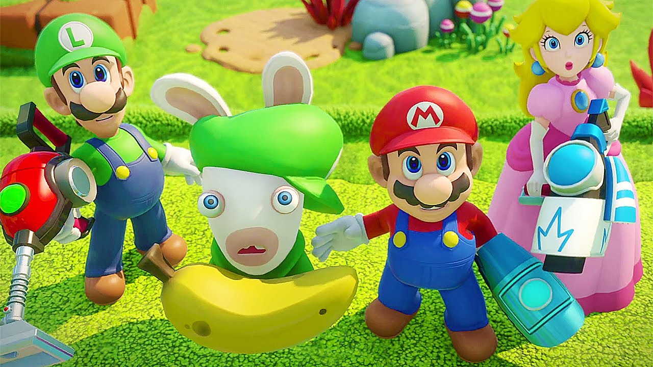Mario Rabbids Kindgom Battle