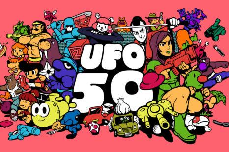 UFO 50 : une collection de jeux pour les nostalgiques