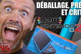 Déballage (unboxing), présentation et critique de la New Nintendo 2DS XL
